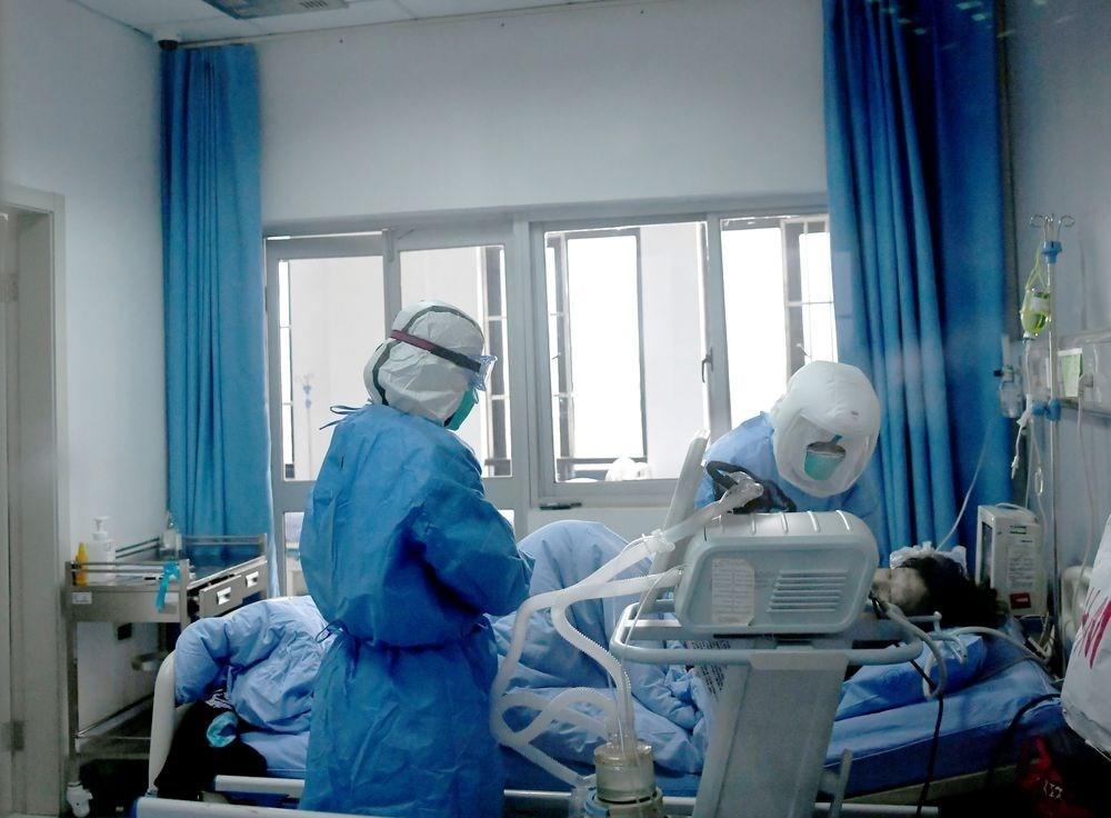 中國最新研究指出,新型冠狀病毒潛伏期恐達24天。專家表示,從學理角度確實有可能,但真能潛伏這麼久的病毒少之又少。圖為中國成都武漢肺炎隔離病區。(檔案照片/中新社提供)
