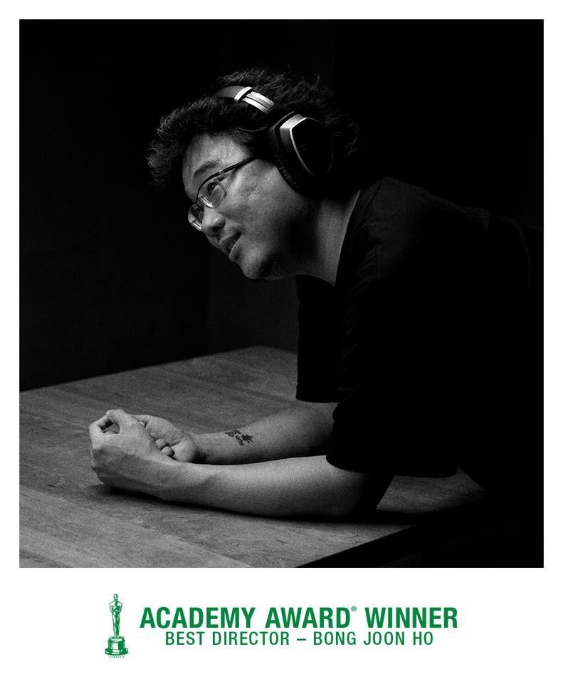 韓國導演奉俊昊10日奪下第92屆奧斯卡獎最佳影片、最佳國際影片、最佳原創劇本、最佳導演等4大獎,創造了以外語片奪下奧斯卡最佳影片的紀錄。(圖取自facebook.com/GisaengchungFilm)