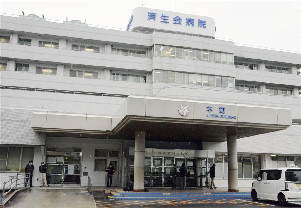 日本和歌山縣濟生會有田醫院先後確診醫師與患者感染武漢肺炎,外界憂慮是否造成院內感染。(共同社提供)