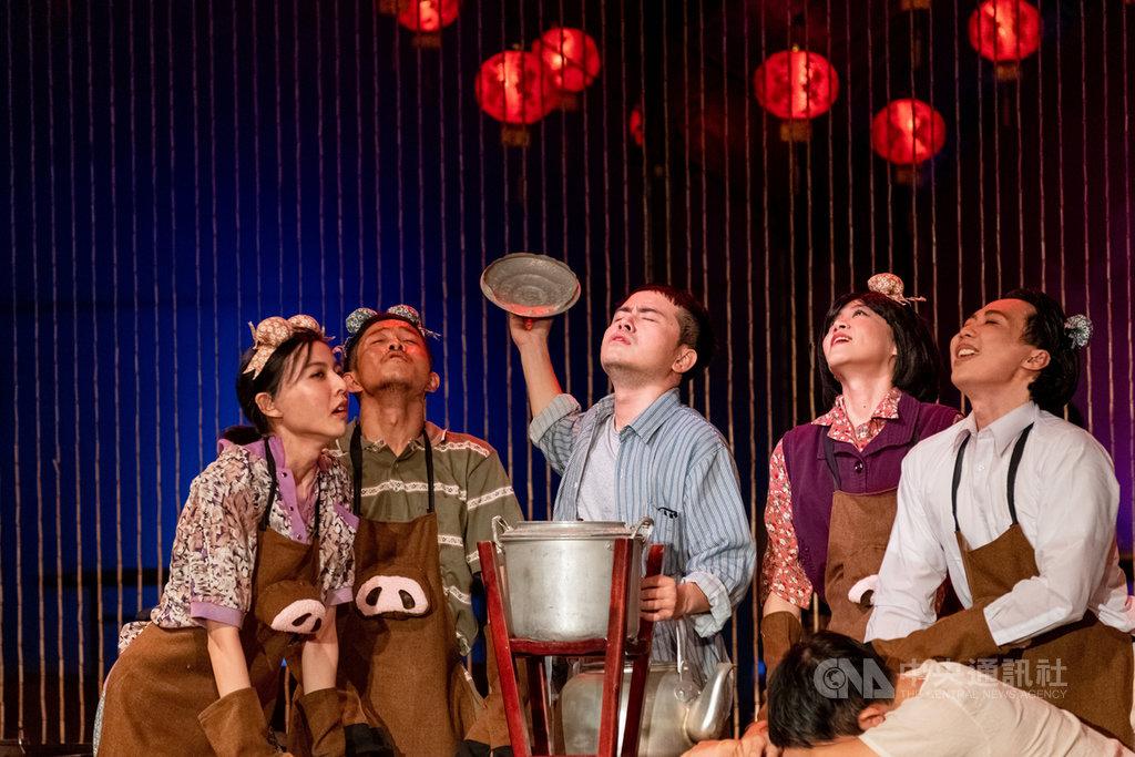 2020 TIFA台灣國際藝術節開幕演出「十二碗菜歌」,以總鋪師的故事為主軸,把台菜的辦桌文化搬上舞台,在配合武漢肺炎疫情防疫及保留演出形式的前提下,兩廳院與團隊決議將演出延期。(兩廳院提供)中央社記者鄭景雯傳真 109年2月15日