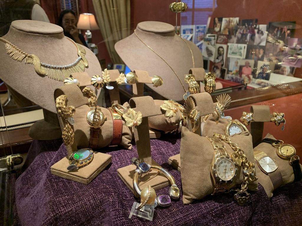 紐約市珠寶週舉辦期間,麥迪遜大道沿線多家珠寶業者敞開大門,以講座、展覽、私人參觀等形式提供民眾一窺珍貴珠寶的機會。中央社記者尹俊傑紐約攝 109年2月19日