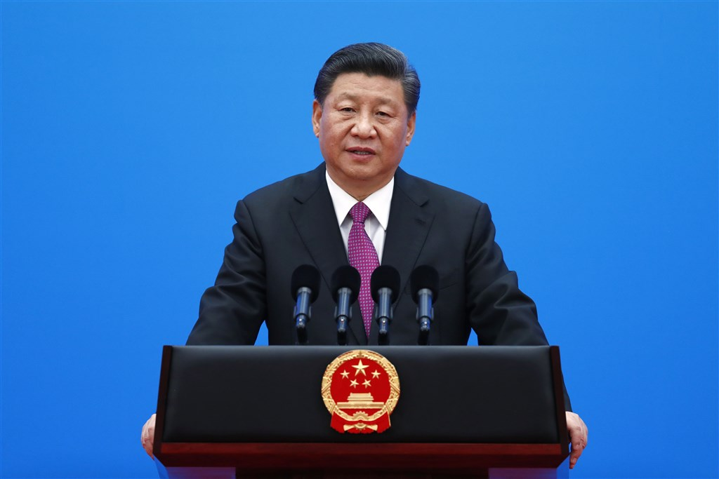 武漢肺炎疫情延燒,令中國領導人習近平推動的「一帶一路」倡議重要計畫受阻。(中新社提供)