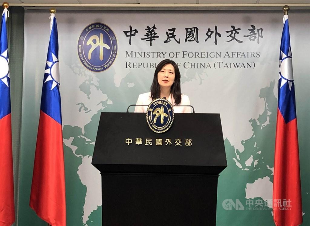 美國疾病管制暨預防中心認定台灣有武漢肺炎社區傳播現象。外交部發言人歐江安(圖)指出,台灣目前疫情並不符合社區傳播要件,已依據實際狀況要求美方改正。(中央社檔案照片)