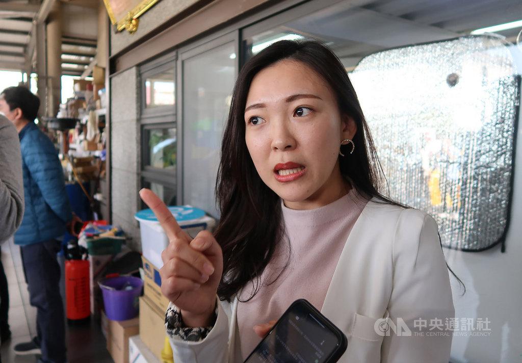 高雄市政府副發言人白喬茵(圖)20日受訪表示,現在市長韓國瑜的重點不是公民團體提出的罷免案,優先拚市政及配合中央做好防疫才是重點。中央社記者王淑芬攝  109年2月20日