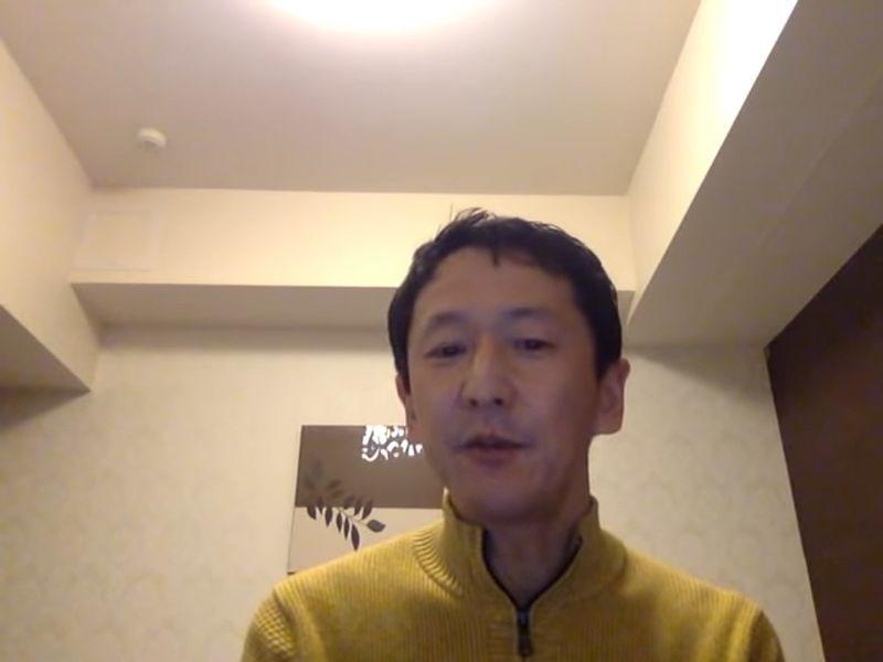 日本神戶大學專家岩田健太郎表示,他在鑽石公主號待不到一日被迫下船,並以影片自述船上惡劣環境引起媒體重視。(圖取自kentaro iwata YouTube頻道)