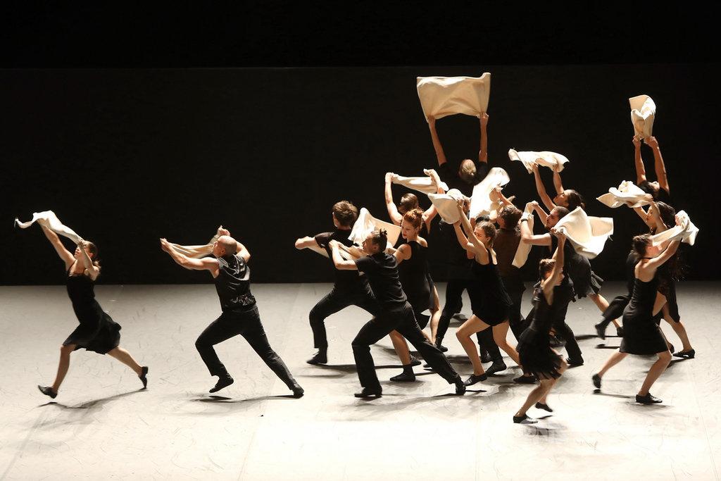 巴希瓦現代舞團原定3月20日至22日將來台演出「委內瑞拉」,受武漢肺炎疫情影響取消。(兩廳院提供)中央社記者鄭景雯傳真 109年2月21日