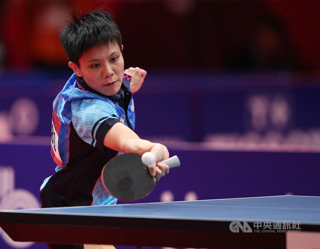 台灣桌球女將鄭怡靜(圖)22日在2020匈牙利桌球公開賽女單8強,以4比0橫掃世界排名15的香港好手杜凱琹,晉級4強。(中央社檔案照片)