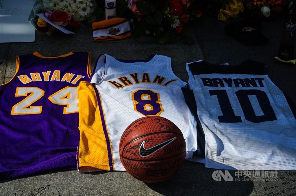 一場意外的直升機失事,美國職籃傳奇球星布萊恩(Kobe Bryant)不幸罹難。中央社記者王騰毅洛杉磯攝 109年1月27日
