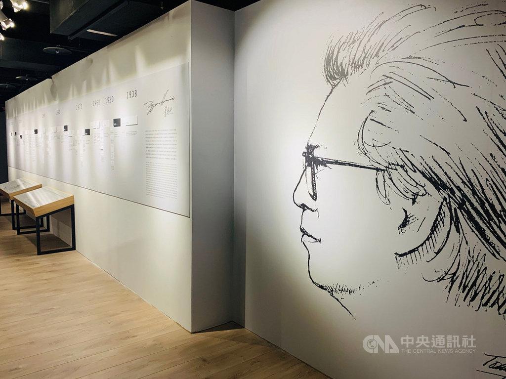 國立傳統藝術中心台灣音樂館24日起推出作曲家蕭泰然逝世5週年紀念特展,展出蕭泰然生前珍貴的手稿、照片與書信等,並策劃相關音樂活動,向這位愛台灣的作曲家致敬。中央社記者趙靜瑜攝 109年2月24日