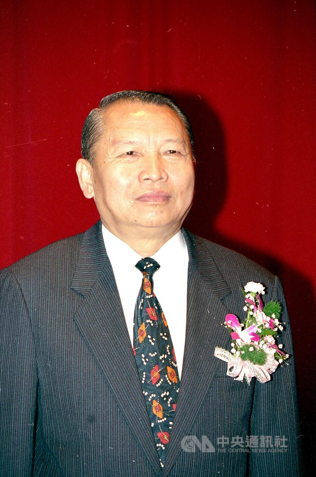 前退輔會主委周世斌24日晚間在台北榮民總醫院逝世,享壽89歲。(中央社檔案照片)