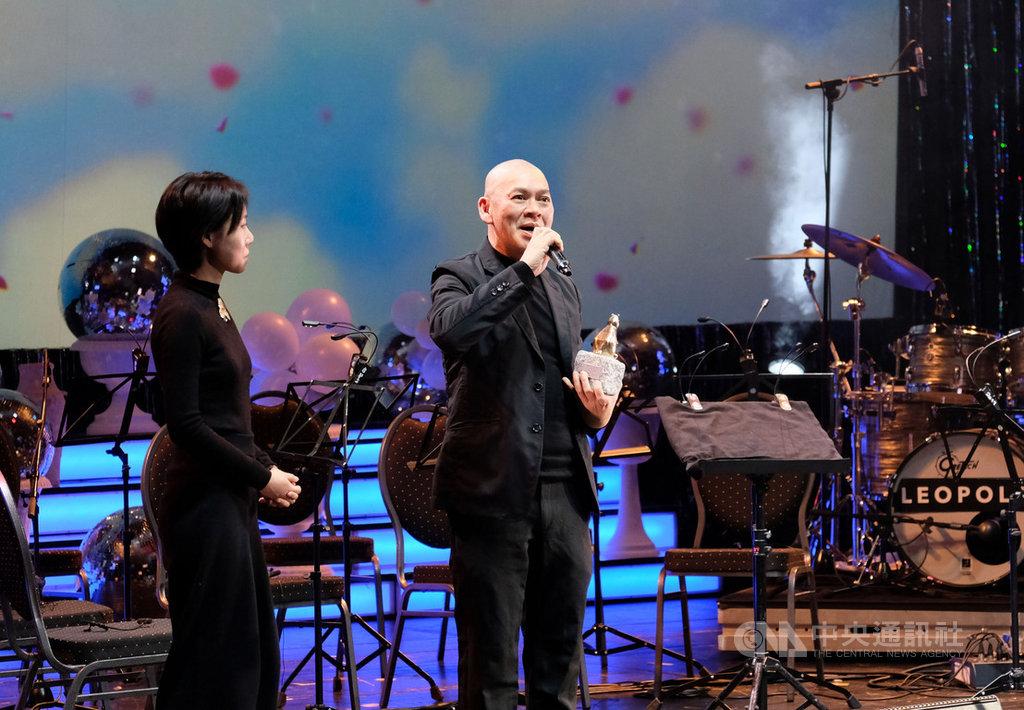 蔡明亮新作「日子」獲頒柏林影展泰迪熊評審團獎。中央社記者林育立柏林攝 109年2月29日