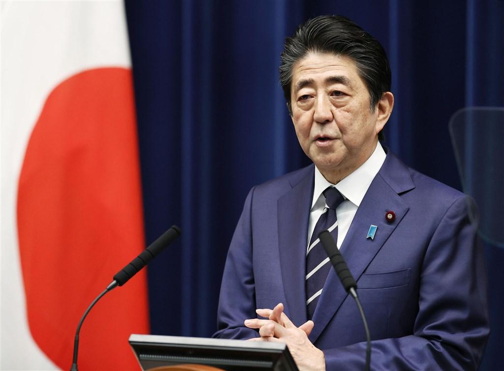 日本首相安倍晉三29日宣布將動用逾2700億日圓預備金,在10天內制定第二輪因應對策,採取一切手段阻止武漢肺炎疫情蔓延。他也重申日本會為東京奧運做萬全準備。(共同社提供)