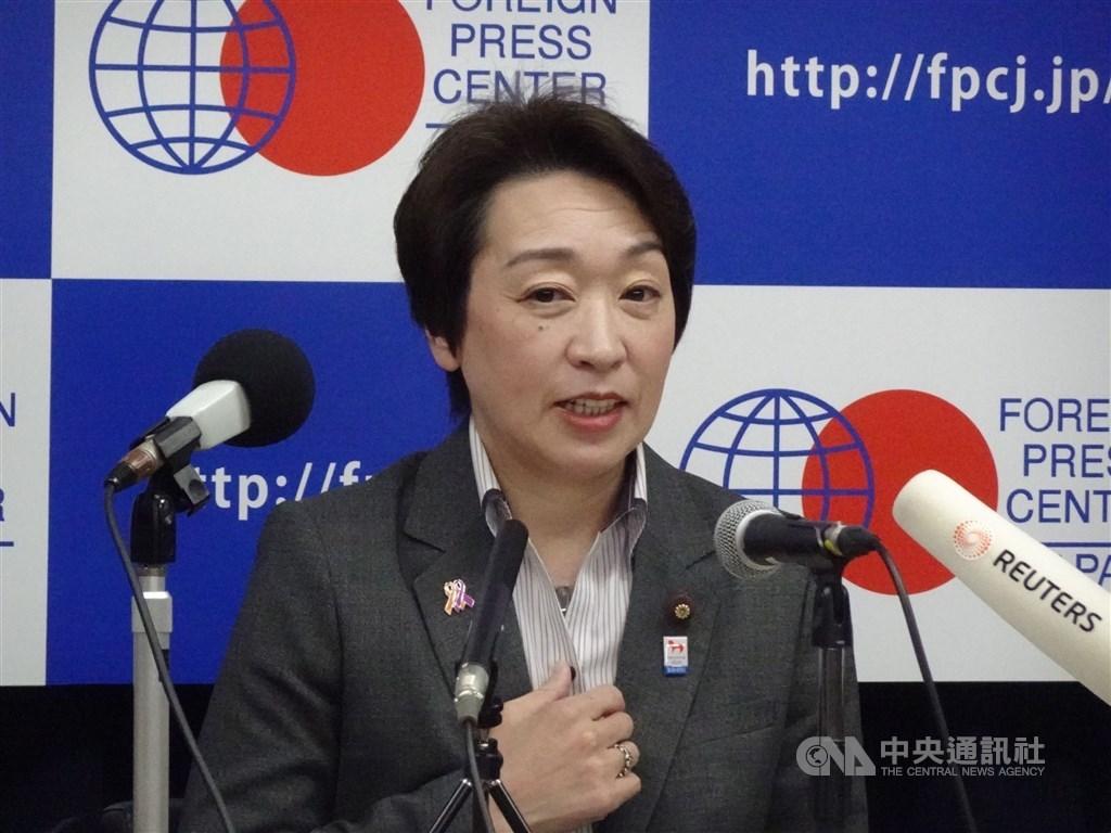 武漢肺炎疫情會否影響東京奧運受關注,日本奧運大臣橋本聖子3日表示,根據東京與國際奧會之間的合約,日本能將2020年東京奧運延到年底舉辦。(中央社檔案照片)