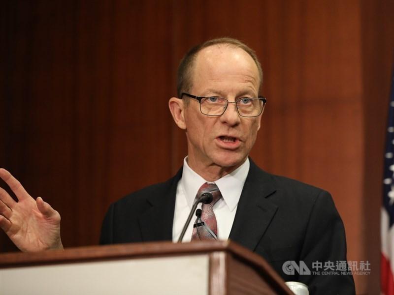 美國務院亞太助卿史達偉14日批評,中國在南海作為如流氓,美方不排除制裁相關中國官員與國有企業。(中央社檔案照片)