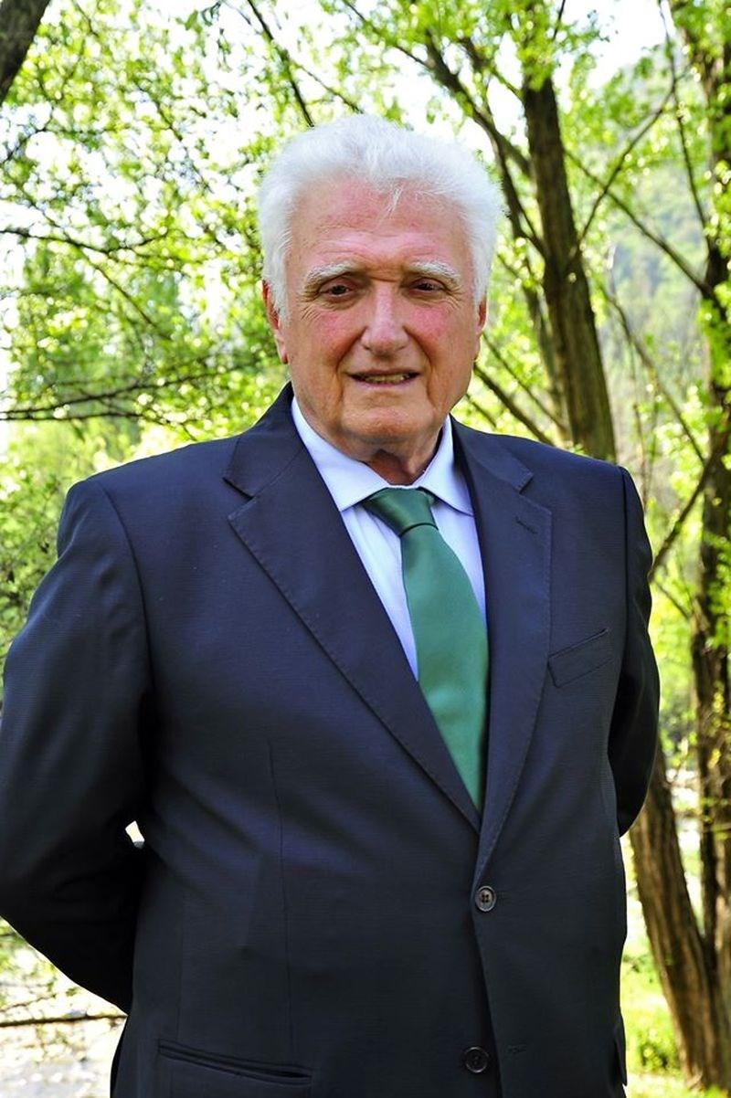 義大利媒體報導,義大利貝加莫省切內市70歲市長瓦洛蒂感染武漢肺炎13日病逝。(圖取自facebook.com/giorgio.valoti)