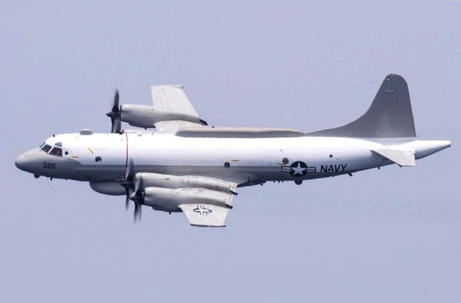 共軍16日首度在晚間派遣軍機擾台,美軍18日上午則被發現派遣EP-3E白羊座電子偵察機飛越台灣西南方海域。(圖取自維基共享資源,版權屬公眾領域)
