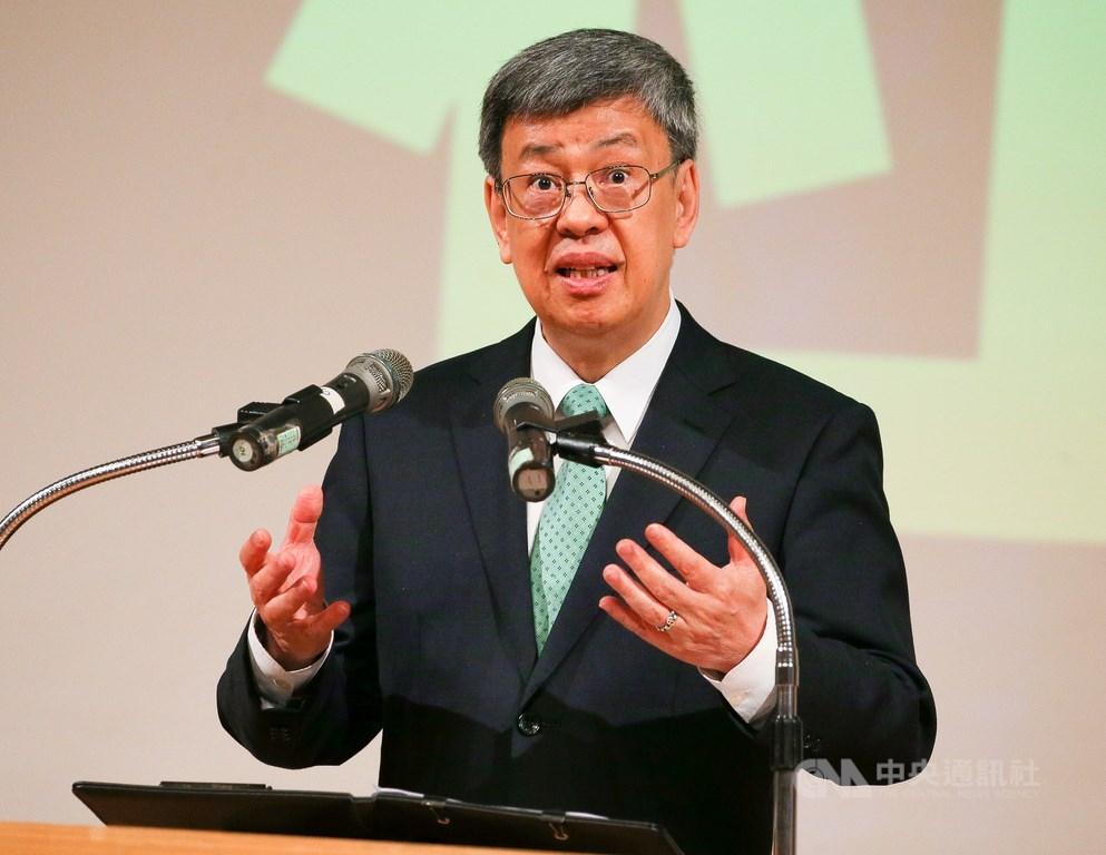 副總統陳建仁日前指中國疫情資訊不夠透明,遭中國新華網批評胡說造謠。(中央社檔案照片)
