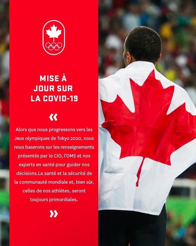 加拿大奧運委員會與帕運委員會22日宣布,他們將不派員參加今夏的奧林匹克運動會與帕運。(圖取自facebook.com/teamcanada)