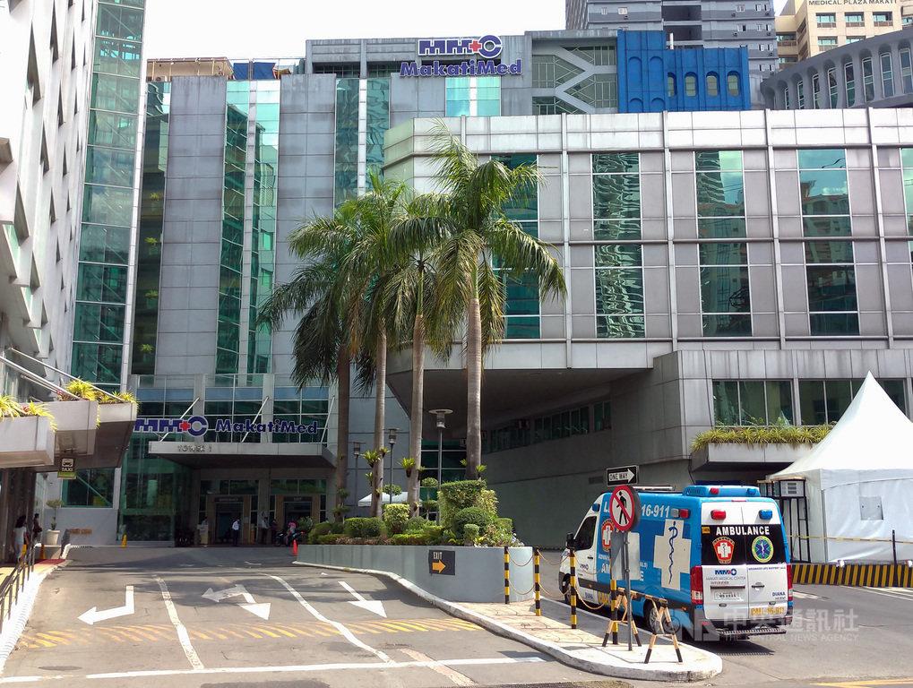 大馬尼拉封城以來,菲律賓增加494例武漢肺炎確診,總數衝上636例。馬卡蒂醫療中心、聖路加醫療中心等民營醫院無法再收治新病患。圖為馬卡蒂醫療中心。中央社記者陳妍君馬尼拉攝 109年3月25日