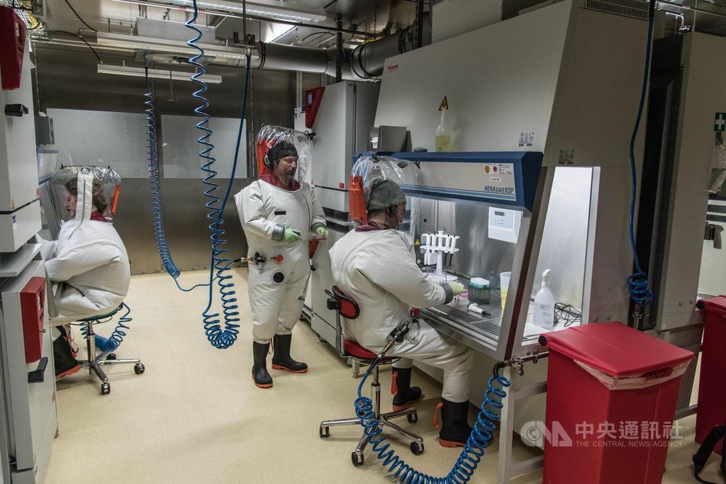 柏林的羅伯特.科赫研究所是德國官方公共衛生機構,擁有最高防護等級的生物安全4級實驗室。(羅伯特.科赫研究所提供)中央社記者林育立柏林傳真 109年3月25日