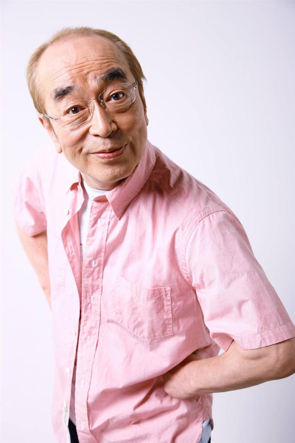 日本知名喜劇王、藝人志村健(圖)所屬經紀公司25日表示,志村20日送醫時已罹患重度肺炎,23日確診武漢肺炎。(圖取自facebook.com/kenshimura.global)