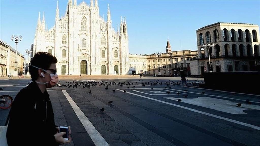 義大利民境內因感染武漢肺炎不治的人數增加683人,累計7503人死亡,相較於24日新增死亡人數增加的不治案例有所減少。(安納杜魯新聞社提供)