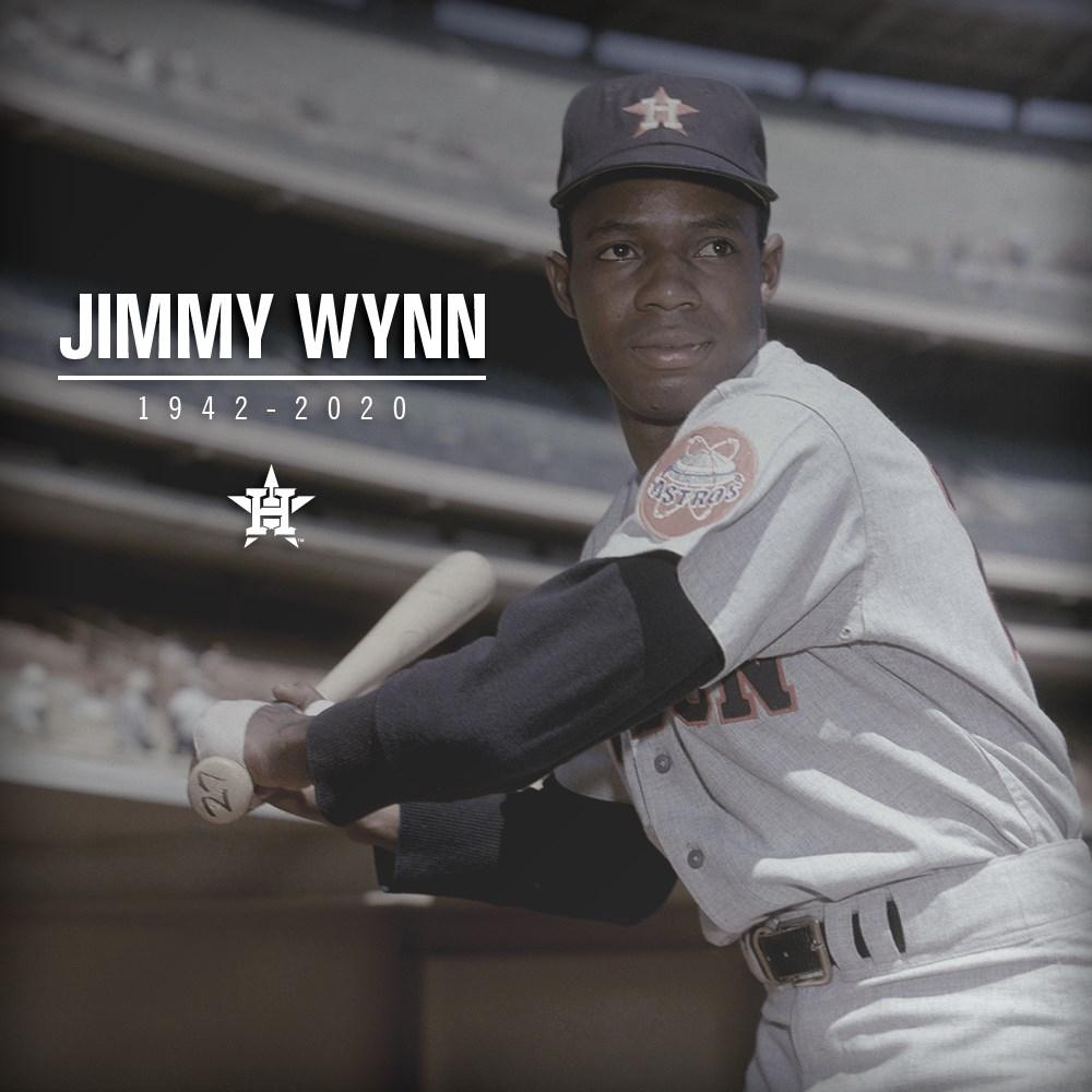 美國職棒大聯盟MLB休士頓太空人隊史最偉大的選手之一,強肩、豪打的傳奇外野手溫恩26日過世,享壽78歲。(圖取自twitter.com/astros)