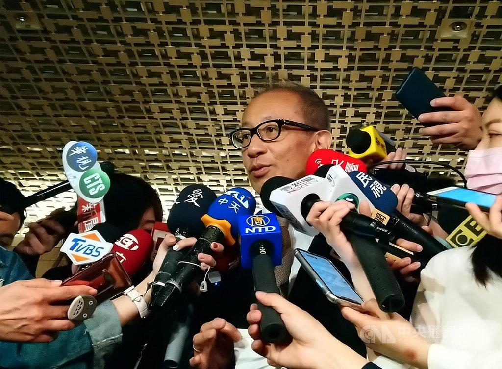 晶華(2707)董事長潘思亮表示,這波疫情重挫規模是SARS、911、金融海嘯的總和。中央社記者江明晏攝 109年3月27日