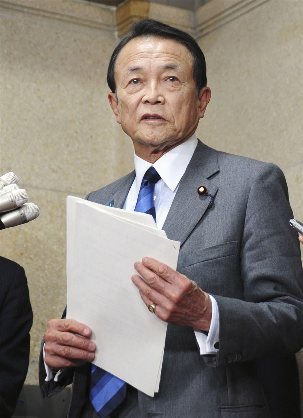 武漢肺炎疫情持續延燒,有人要求世界衛生組織秘書長譚德塞辭職。日本副首相麻生太郎(圖)26日表示,有人說WHO應改稱為CHO(中國衛生組織)。(共同社提供)