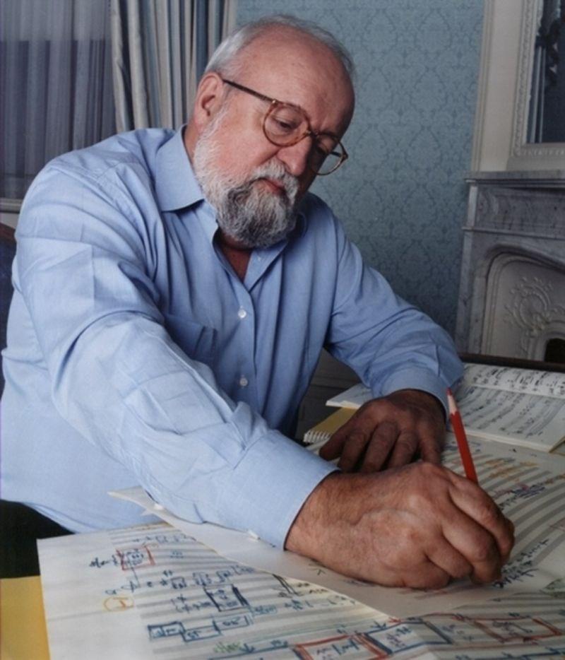 波蘭一代作曲家潘德瑞茲基29日在波蘭過世,享壽86歲。(圖取自潘德瑞茲基官方網頁krzysztofpenderecki.eu)