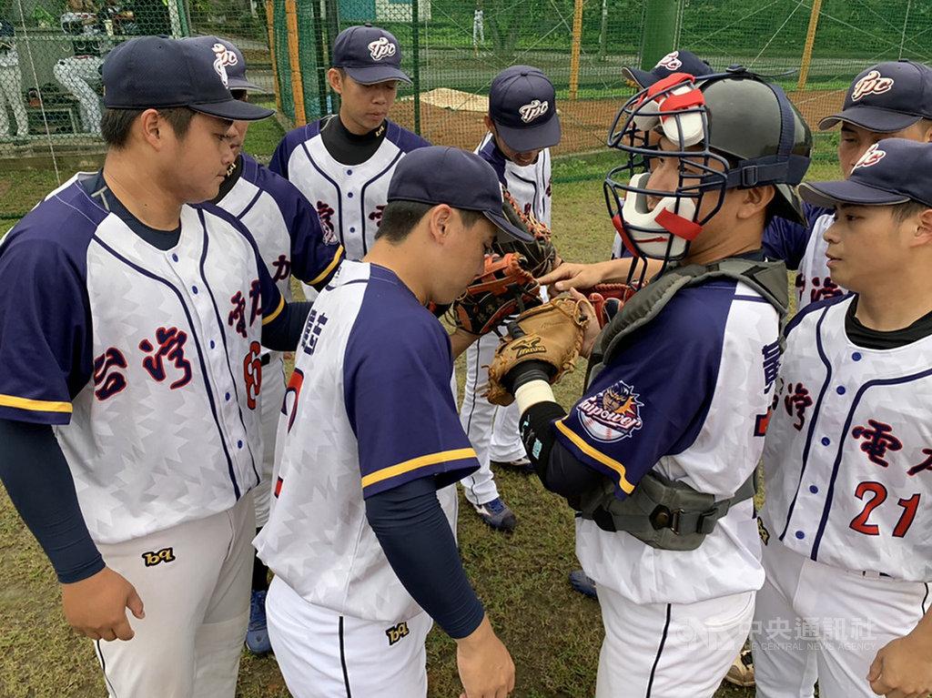 109年全國成棒春季甲組聯賽持續開打,台灣電力隊(圖)1日以3比2擊敗新北市隊,於社會A組預賽戰績躍居第一。(中華民國棒球協會提供)中央社記者謝靜雯傳真 109年4月1日