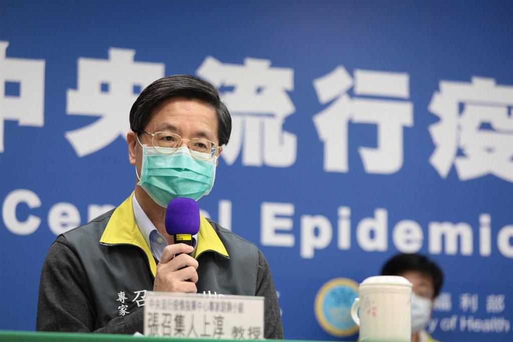 中央流行疫情指揮中心專家諮詢小組召集人張上淳6日表示,武漢肺炎確診者腹瀉情形從輕微到嚴重都有,有人甚至一天拉上7、8次。(中央流行疫情指揮中心提供)中央社