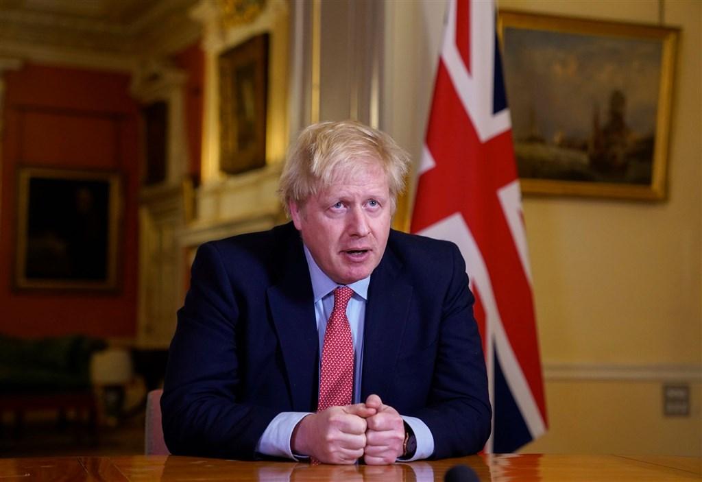 英國首相強生5日被送往醫院接受檢查,但武漢肺炎的症狀隨後惡化,6日晚間住進加護病房。(圖取自facebook.com/borisjohnson)
