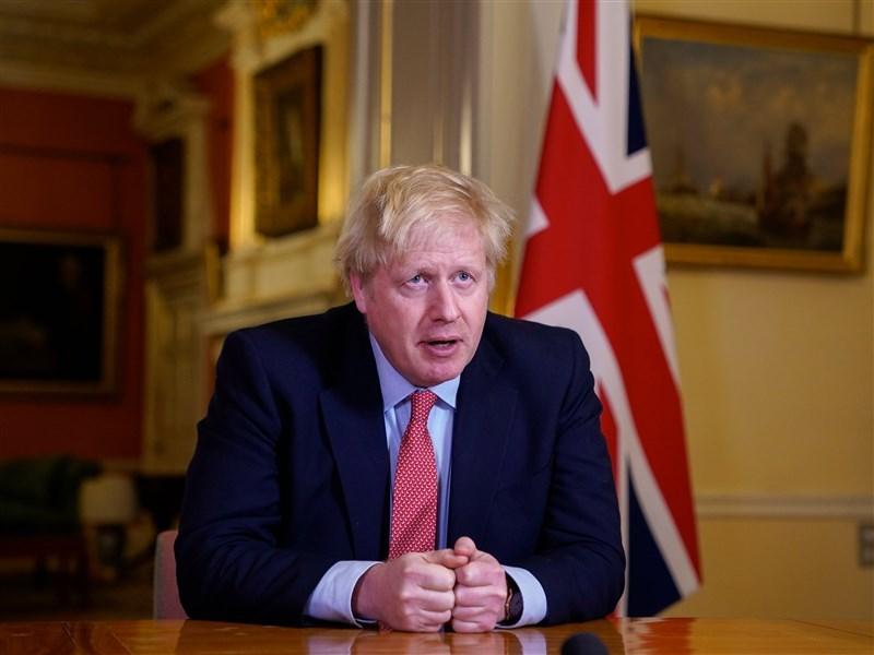 英國武漢肺炎疫情爆發後,英國首相強生(圖)中鏢倒下,經過近一個月療養,他將在27日重返工作崗位。(圖取自facebook.com/borisjohnson)