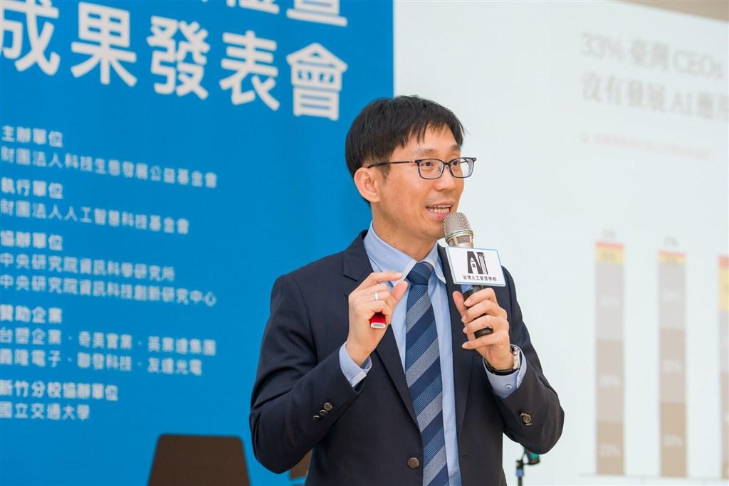 台灣人工智慧學校執行長陳昇瑋被譽為「台灣資料科學教父」,是台灣發展人工智慧(AI)的最重要推手。(圖取自facebook.com/aiacademy.tw)