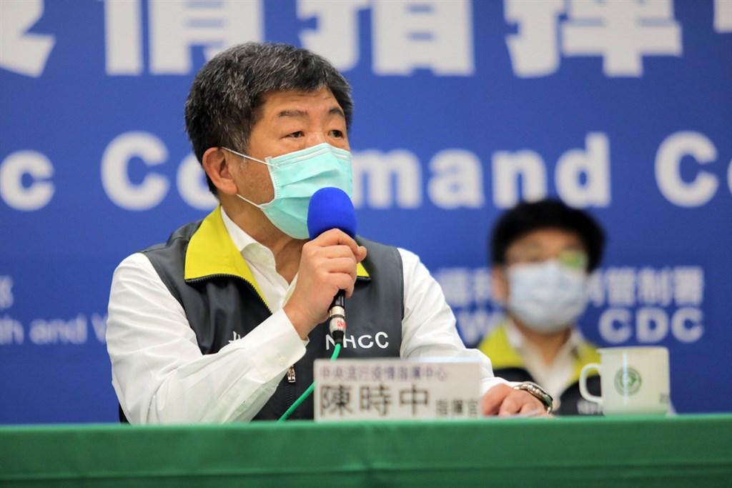 台灣去年12月31日提醒武漢出現類似SARS患者且遭「隔離」,但WHO卻不認這就是「人傳人警訊」。指揮中心指揮官陳時中16日表示「無言以對」。(中央流行疫情指揮中心提供)中央社 109年4月16日
