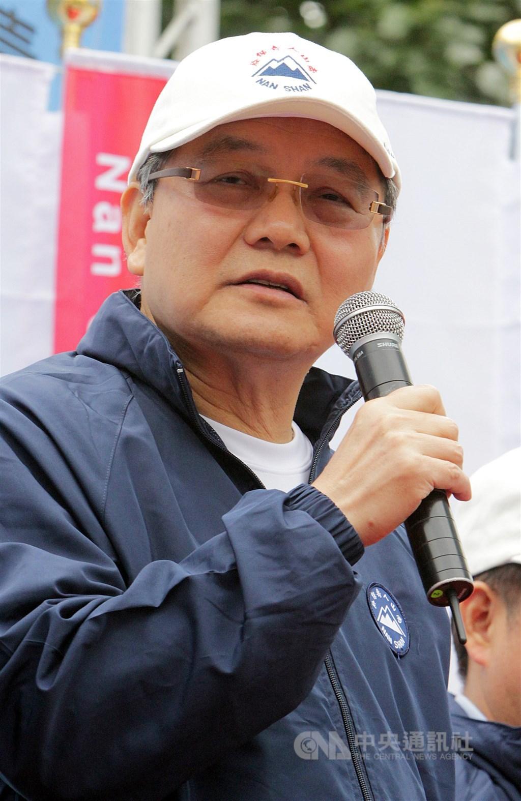 南山人壽30日表示,遭金管會停職的前董事長杜英宗(圖),將由目前的代理董事長陳棠繼任,待金管會核准生效。(中央社檔案照片)