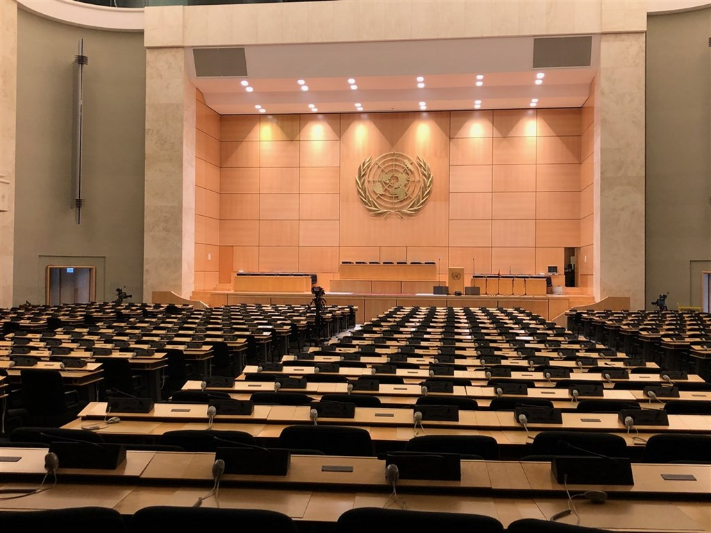 世界衛生組織4日自曝,已有2個國家提案,將在18日世界衛生大會(WHA)上,由成員國們辯論台灣參與議題。(中央社檔案照片)