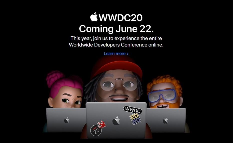 蘋果將於台灣時間6月23日凌晨舉辦全球開發者大會,所有開發者可以透過線上虛擬方式免費參加。(圖取自蘋果公司網頁apple.com)