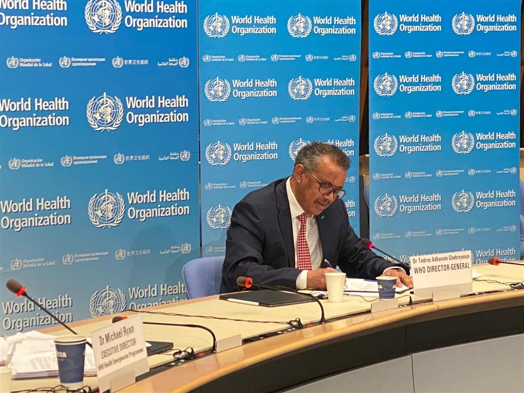 第73屆世界衛生大會將於5月18日至19日以視訊形式舉行,迄今世界衛生組織WHO秘書長譚德塞仍避談是否邀請台灣。(圖取自twitter.com/DrTedros)