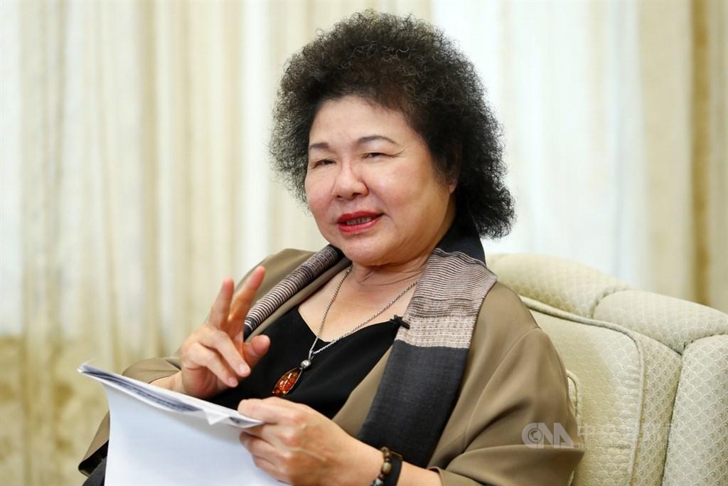 總統府秘書長陳菊17日晚間在臉書發文表示,520之後她不再續任總統府秘書長。(中央社檔案照片)