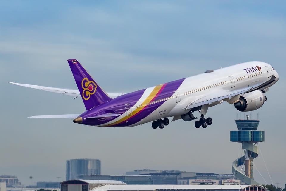 泰國航空日前傳出恐會破產,泰國航空台北分公司20日發出新聞稿表示,泰航已取得泰國政府挹注。(圖取自facebook.com/ThaiAirways)
