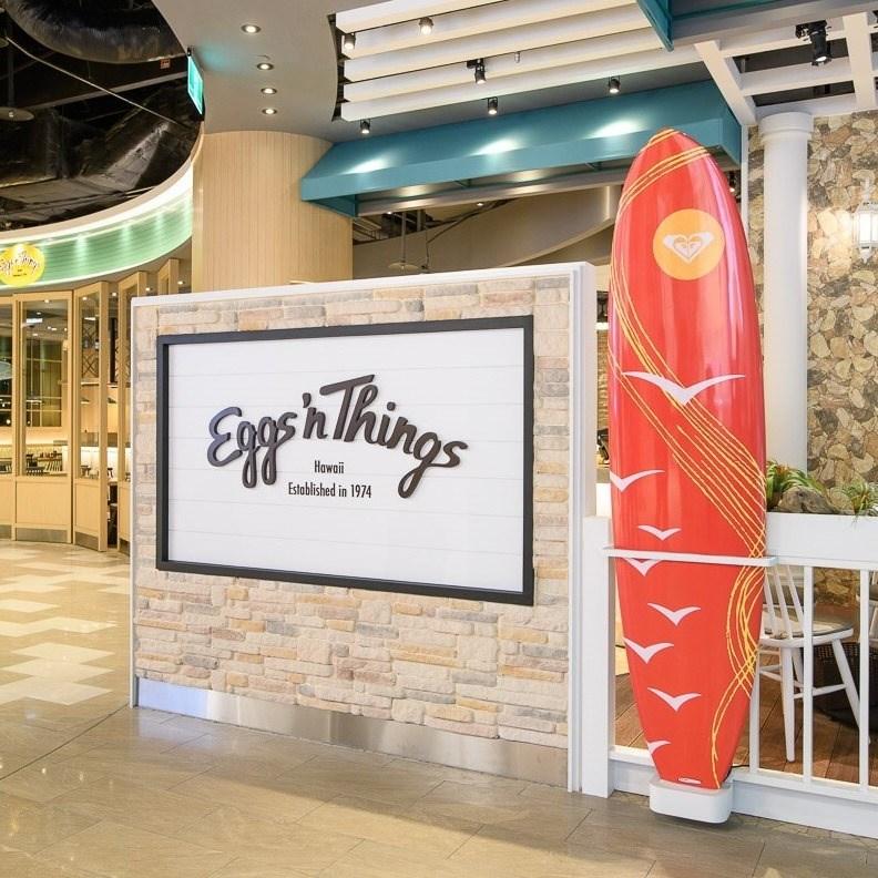 2018年引進的日本鬆餅品牌餐廳Eggs 'n Things,將營運至5月31日止。(圖取自facebook.com/eggsnthings.tw)