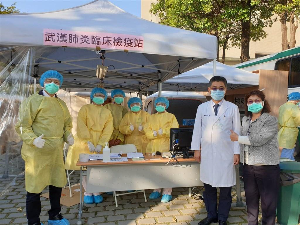 武漢肺炎疫情趨緩,成大醫院22日晚間透過臉書宣布成醫臨床檢疫站「打烊了」。(圖取自facebook.com/nckuh)
