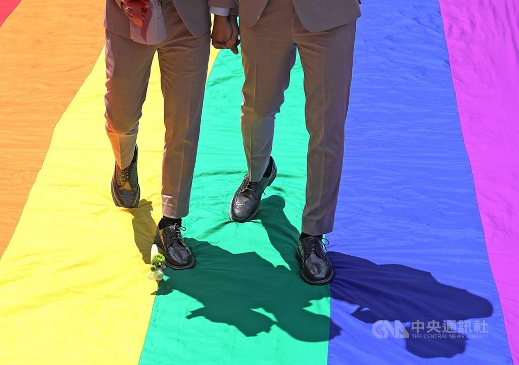 哥斯大黎加同性婚姻合法化26日零時生效。(示意圖/中央社檔案照片)