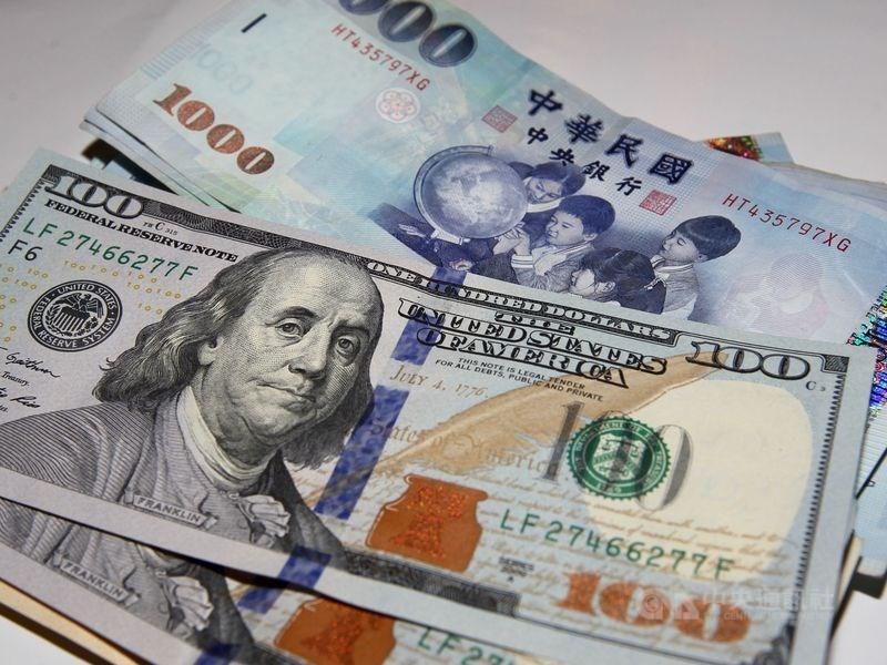 新台幣兌美元29日收盤收30.032元,升值1.3分。(中央社檔案照片)