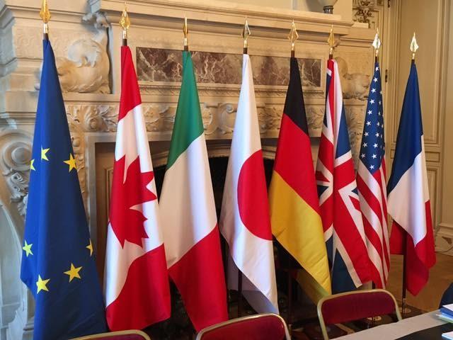 德國政府發言人表示,總理梅克爾已拒絕美國總統川普預計6月底於華府舉辦七大工業國集團峰會的邀約。(示意圖/圖取自facebook.com/G7)