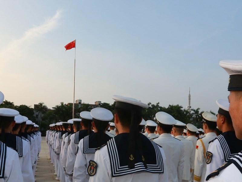 美國總統川普29日宣布,將禁止與中國解放軍有關聯的中國留學生與研究人員入境。圖為中國解放軍南海艦隊。(中新社提供)