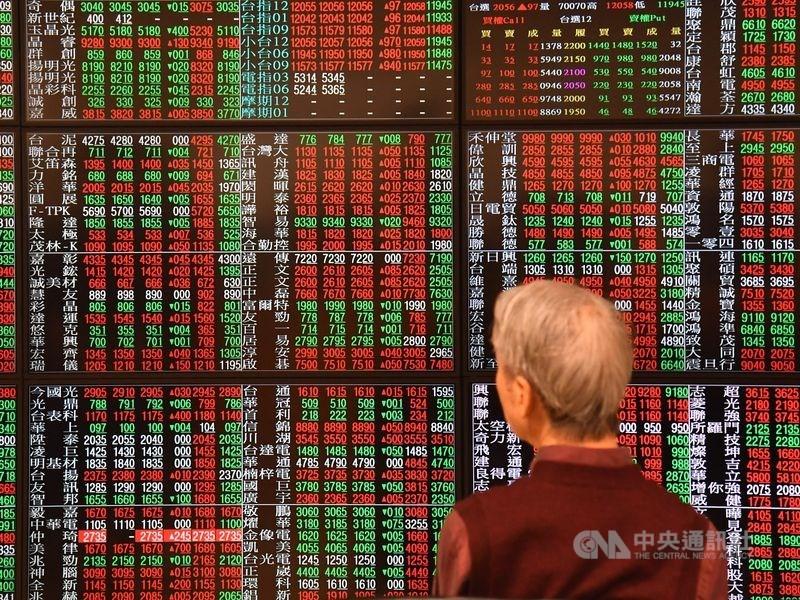 台股1日收盤漲136.86點,為11079.02點,漲幅1.25%。(中央社檔案照片)