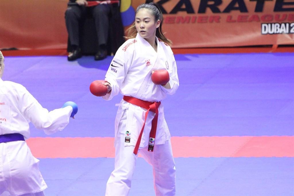 世界空手道聯盟日前宣布更改奧運積分取標時間,也導致台灣空手道女將文姿云到手的奧運門票被迫繳回。(圖取自文姿云臉書facebook.com)